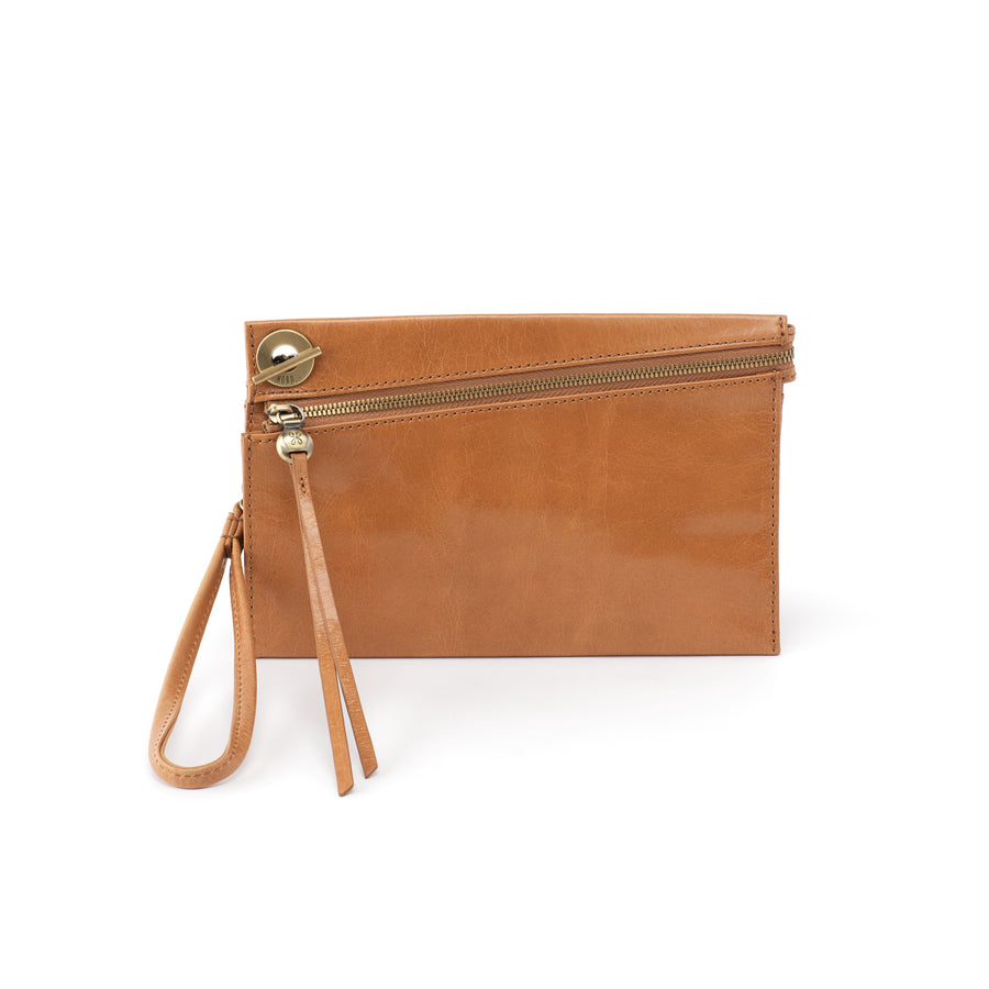 Hobo Link Wristlet in Honey