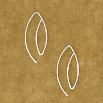 HLS Marquis Slip on Earring - small