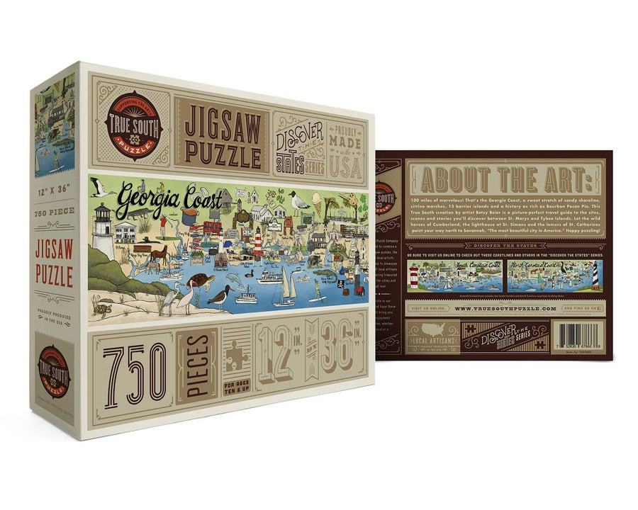 Georgia Coast 750 Piece Jigsaw Puzzle