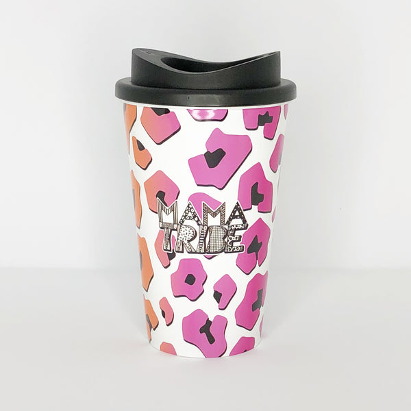 Mama Tribe travel cup reusable coffee cup merchandise