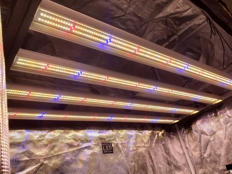 Slim 320H Dimmable LED Grow Light 320w (120 Degree) 3500k