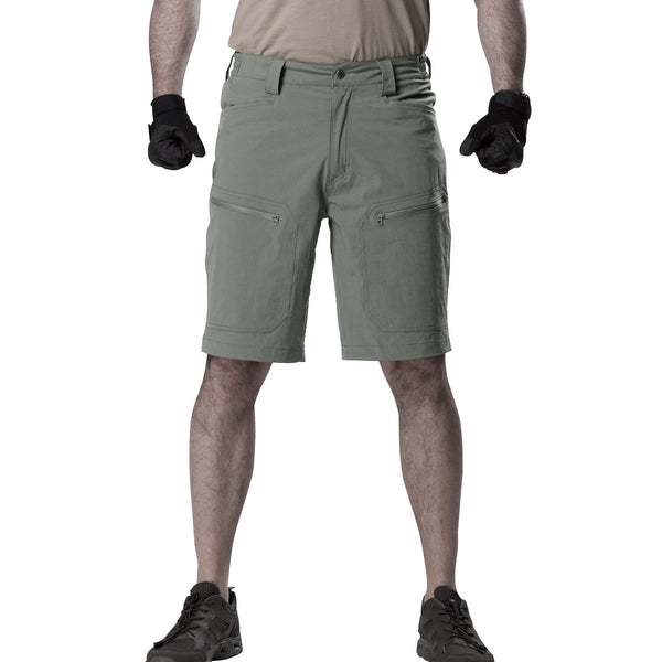FREE SOLDIER Men's Breathable Lightweight Quick Dry Hiking Tactical Cargo Shorts Nylon Spandex