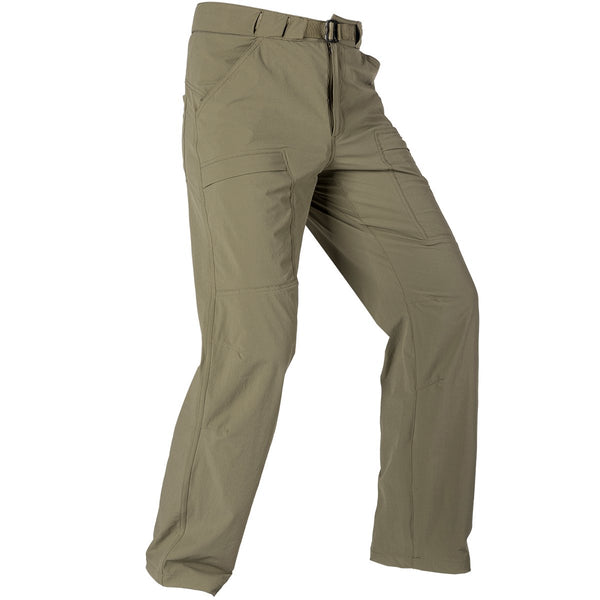FREE SOLDIER Outdoor Men's Lightweight Waterproof Quick Dry Tactical Pants Nylon Spandex