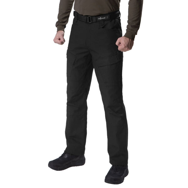 FREE SOLDIER Mens Water Resistant Pants Relaxed Fit Tactical Combat Army Cargo Work Pants with Multi Pocket