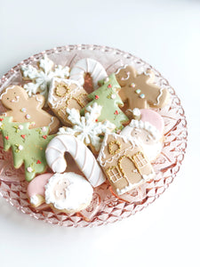 Christmas Sugar Cookies- Individually wrapped (1 Dozen)