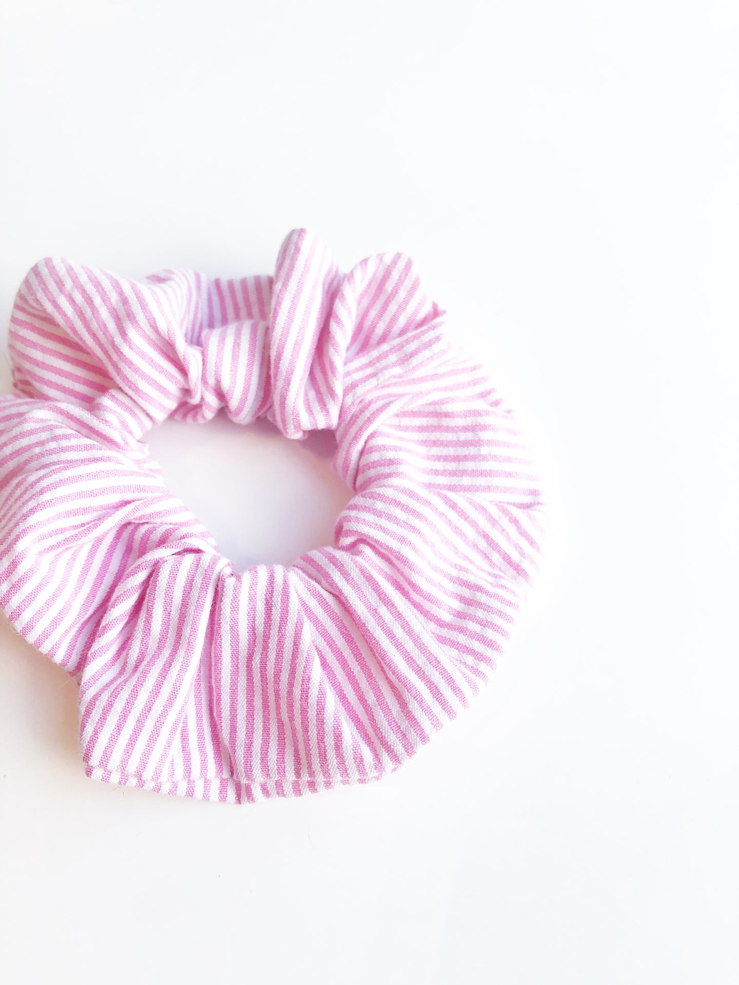Scrunchie - Pink Stripe