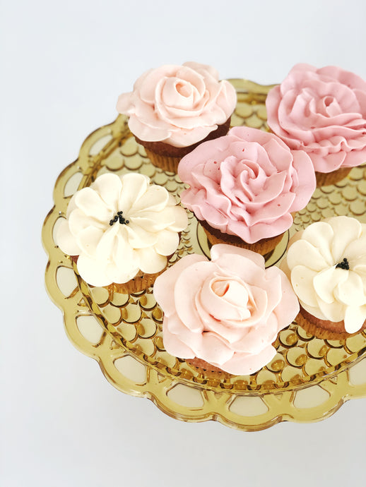 Floral Cupcakes (6)