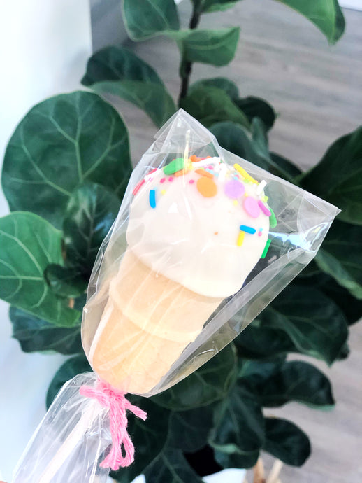 Ice Cream Cake Pop
