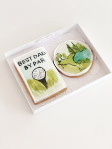 Golf Dad Cookie Set