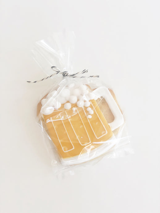 Beer Mug Sugar Cookie