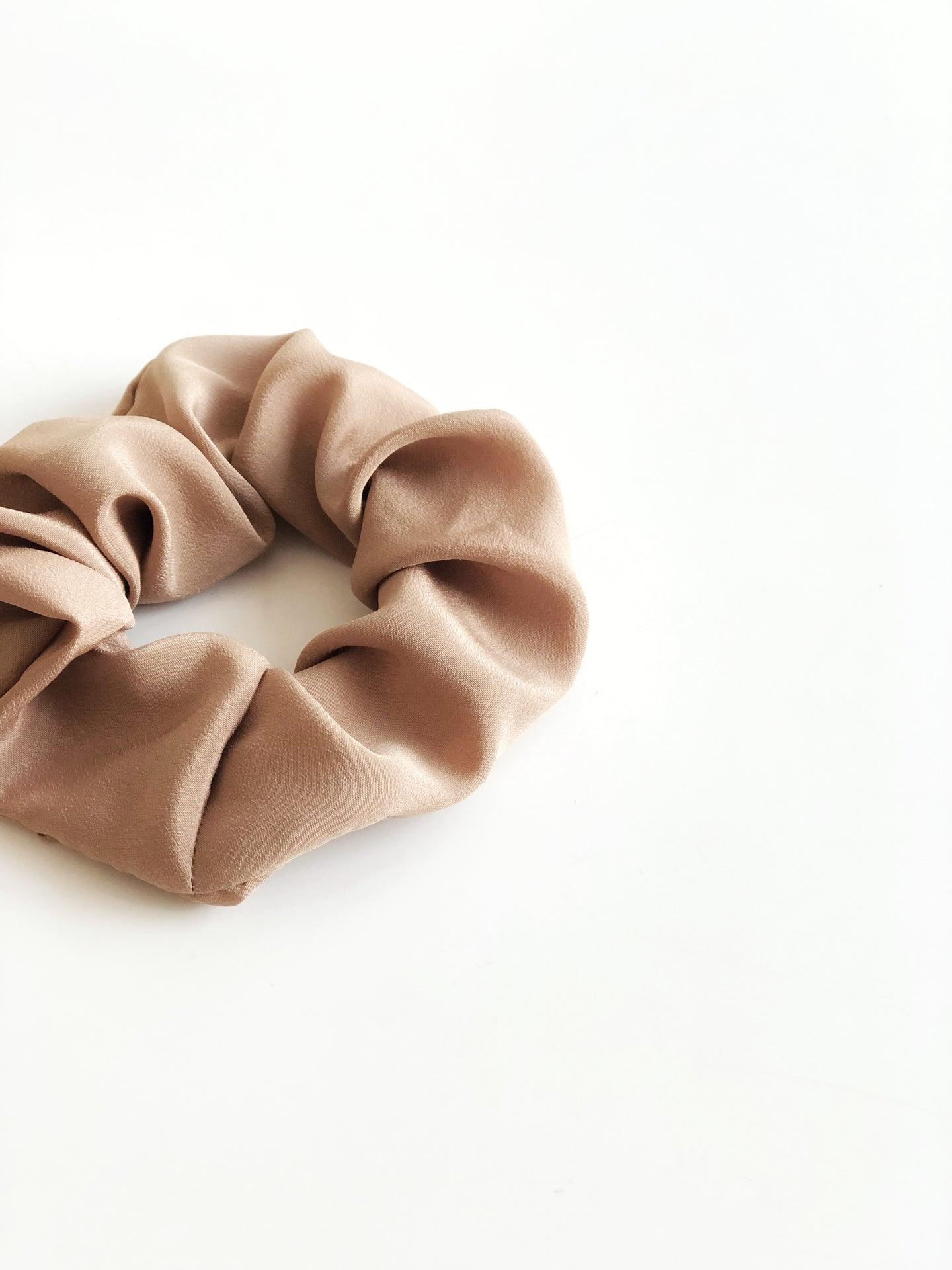 Scrunchie - Antique gold