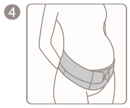 Ergonomic Maternity Support Belt