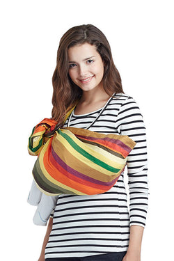 Tropical Fruits Baby Ring Sling