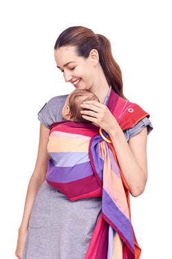 Rainbow Sweetheart Baby Ring Sling