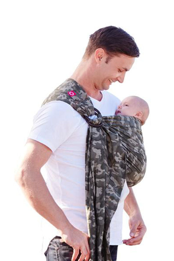 Camouflage Baby Ring Sling