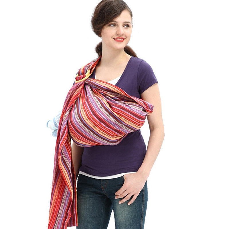 Rainbow Mocca Baby Ring Sling