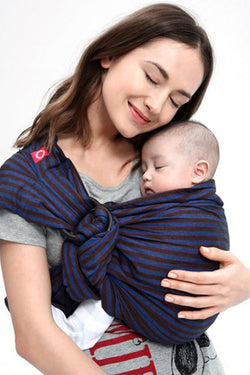 Blueberry Brownie Baby Ring Sling