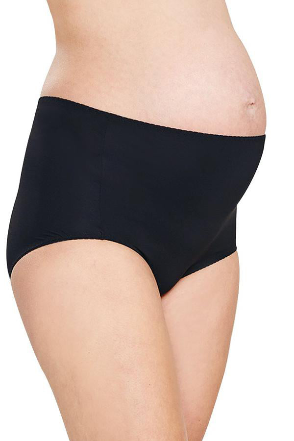 Antibacterial Maternity High-Rise Briefs (2 Pack)