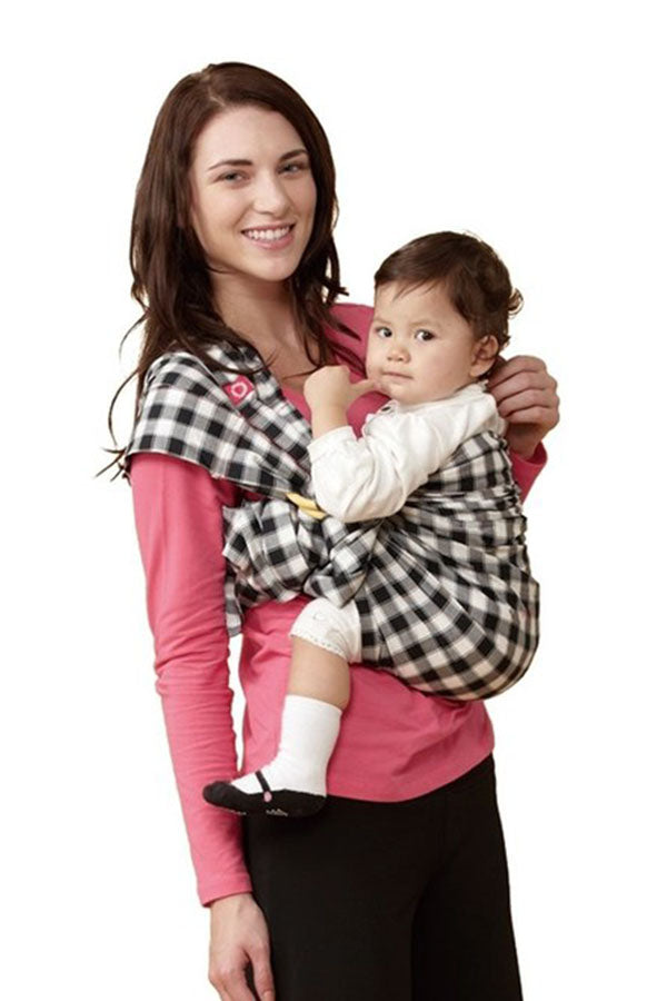 Gingham Chunky Baby Ring Sling