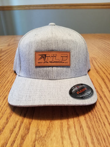 Gray Flexfit Curved Bill