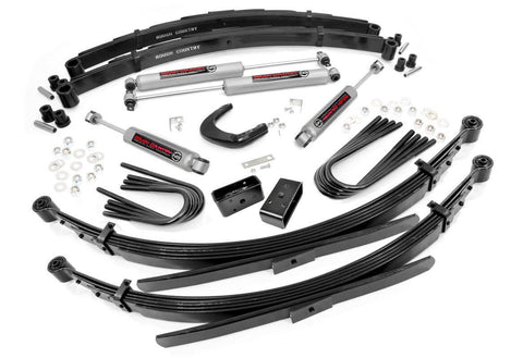 6IN GM SUSPENSION LIFT SYSTEM For 73-76 Chevy/GMC 4wd Pickup (56IN REAR SPRINGS)