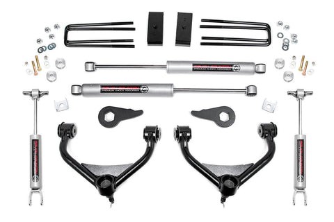 3.5IN GM BOLT-ON SUSPENSION LIFT KIT (11-18 2500/3500HD)