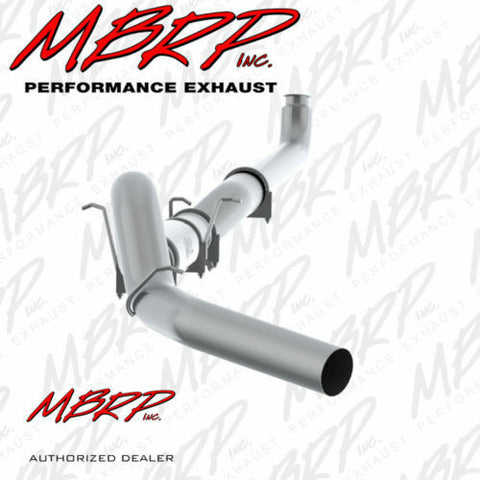 MBRP 01-07 2500/3500 DURAMAX CLASSIC EC/CC 5 DOWN PIPE BACK,SINGLE SIDE,AL