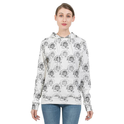 BloomSketch Women's Hoodie | Ollister Urban