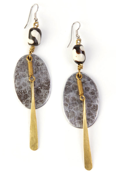 Kenyan Safari Sister Earrings | Ollister Urban