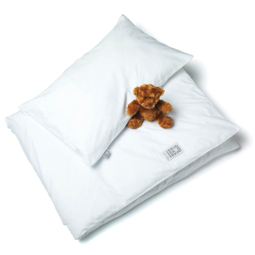 BABY BEDDING PLAIN WHITE