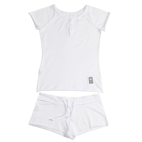 PJ SHORTIE WHITE