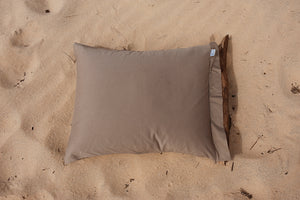 PILLOWCASE PLAIN COFFEE