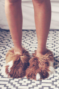 ALPACA LINE SLIPPERS - Woman or Junior