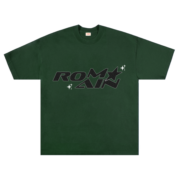 FOREST GREEN LOGO TEE
