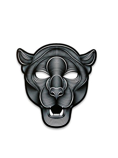 The official Jaguar 2.0 Sound Reactive LED Outline Montréal Mask - Principal Picture