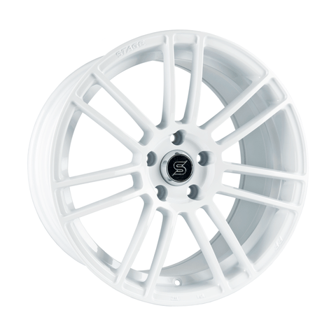 Stage Wheels Belmont 18x8.5 +35mm 5x114.3 CB 73.1 Color White