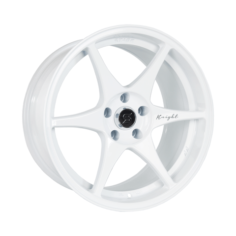 Stage Wheels Knight 17x9 +35mm 5x114.3 CB 73.1 Color White