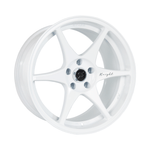 Stage Wheels Knight 17x9 +10mm 5x114.3 CB 73.1 Color White