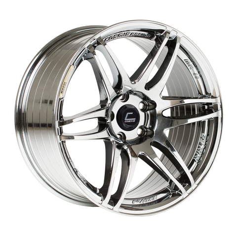 MRII Black Chrome Wheel 17x9 +10mm 5x114.3