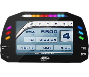 Link MXS Driver Display - Race