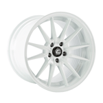 R1 Pro White Wheel 18x12 +24mm 5x114.3
