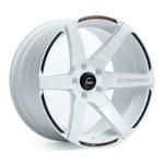 S1 White Wheel w/ Milled Spokes 18x9.5 +15mm 5x114.3