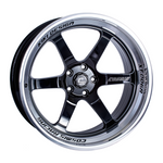 XT-006R Black w/ Machined Lip Wheel 20x9.5 +10mm 5x114.3
