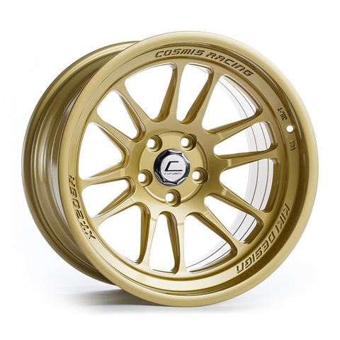 XT-206R Gold Wheel 18x11 +8mm 5x114.3