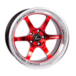 XT-006R Red w/ Machined Lip Wheel 18x11 +8mm 5x114.3