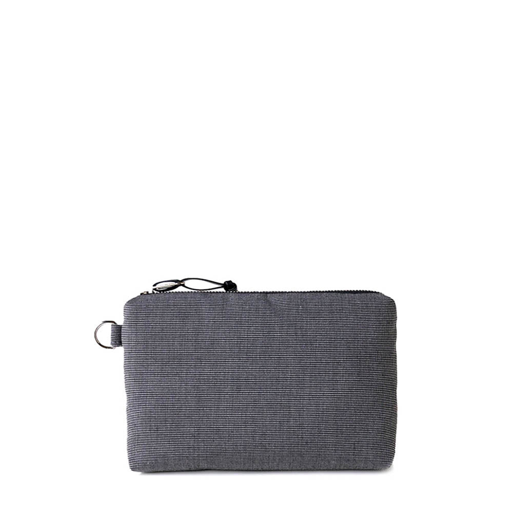 ACCESSORY POUCH - CHARCOAL GRAY