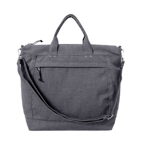 DAY TOTE - CHARCOAL GRAY