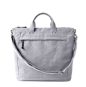 DAY TOTE - HEATHER GRAY
