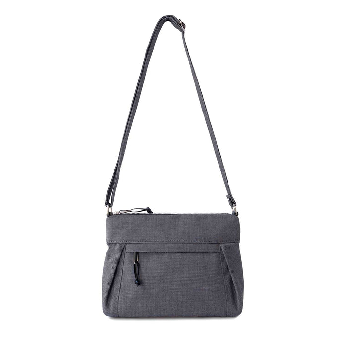 SMALL CARRYALL - CHARCOAL GRAY - cross body purse - STANFIELD