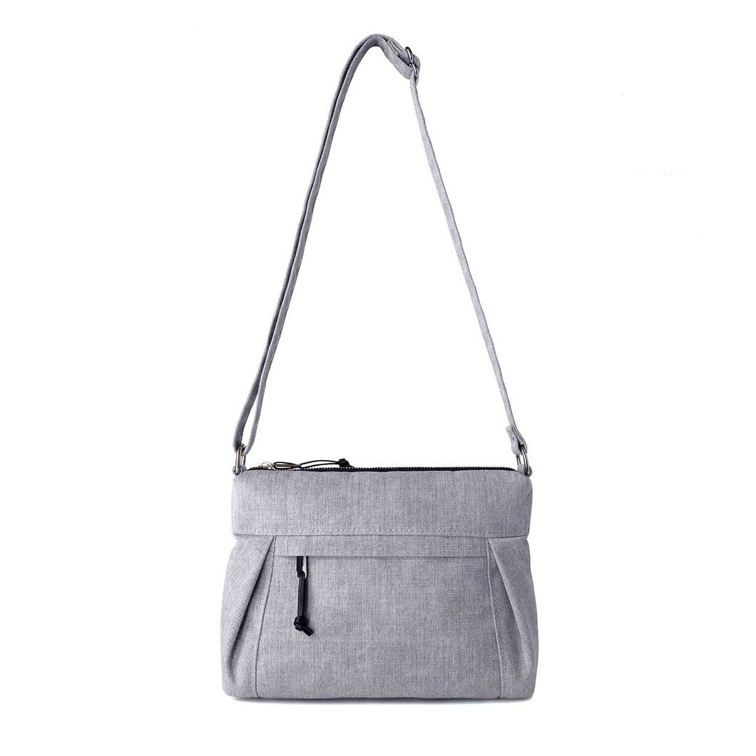 SMALL CARRYALL - HEATHER GRAY - cross body purse - STANFIELD
